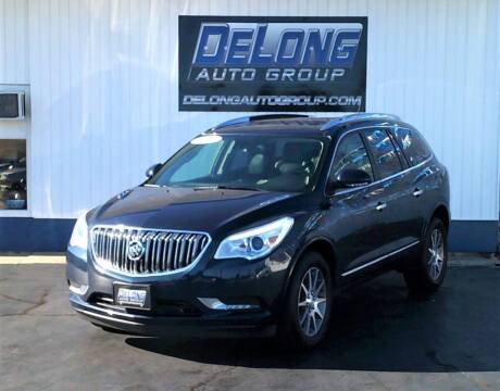 2015 Buick Enclave for sale at DeLong Auto Group in Tipton IN