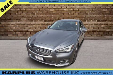 2017 Infiniti Q50 for sale at Karplus Warehouse in Pacoima CA