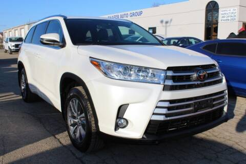 2018 Toyota Highlander for sale at SHAFER AUTO GROUP in Columbus OH