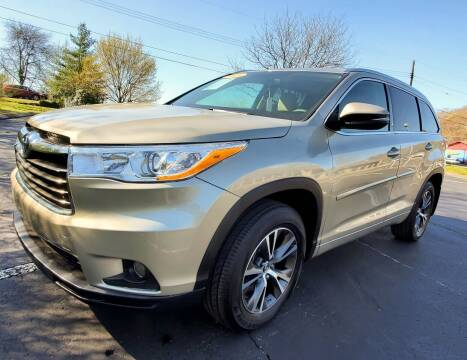 2016 Toyota Highlander for sale at Tennessee Imports Inc in Nashville TN