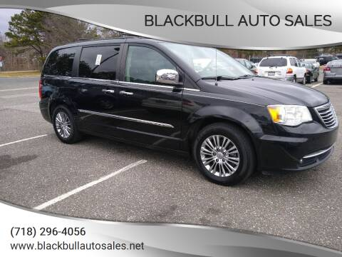 2013 Chrysler Town and Country for sale at Blackbull Auto Sales in Ozone Park NY
