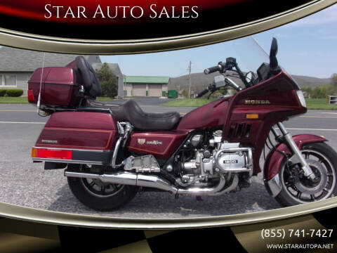1986 Honda Goldwing for sale at Star Auto Sales in Fayetteville PA