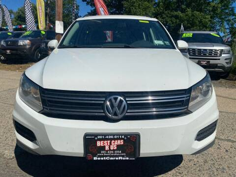 2015 Volkswagen Tiguan for sale at Best Cars R Us in Plainfield NJ