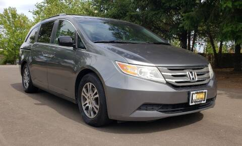 2011 Honda Odyssey for sale at VIking Auto Sales LLC in Salem OR