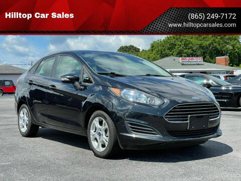2014 Ford Fiesta for sale at Hilltop Car Sales in Knox TN