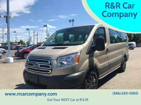 2015 Ford Transit Passenger for sale at R&R Car Company in Mount Clemens MI