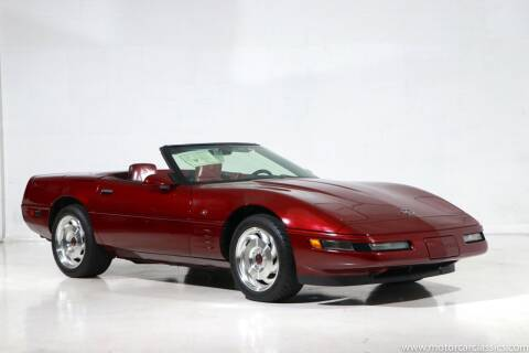 1993 Chevrolet Corvette for sale at Motorcar Classics in Farmingdale NY