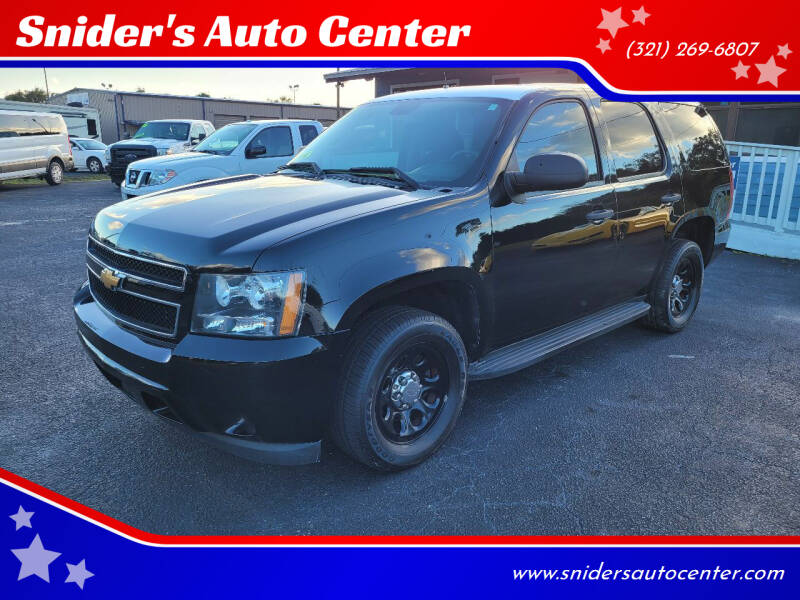 2012 Chevrolet Tahoe for sale at Snider's Auto Center in Titusville FL
