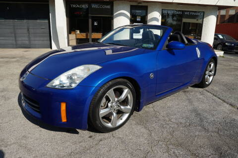 2007 Nissan 350Z for sale at PA Motorcars in Conshohocken PA