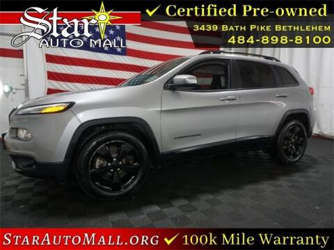 2018 Jeep Cherokee for sale at STAR AUTO MALL 512 in Bethlehem PA