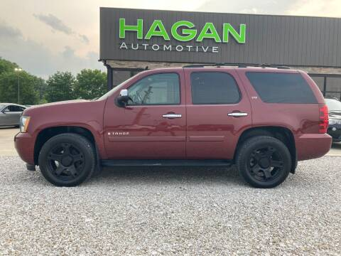 2008 Chevrolet Tahoe for sale at Hagan Automotive in Chatham IL