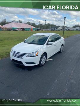 2015 Nissan Sentra for sale at ICar Florida in Lutz FL