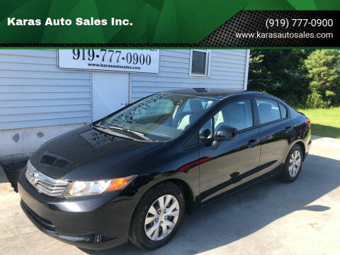 2012 Honda Civic for sale at Karas Auto Sales Inc. in Sanford NC