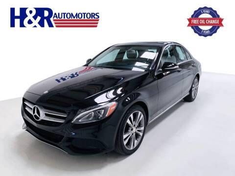 2015 Mercedes-Benz C-Class for sale at H&R Auto Motors in San Antonio TX