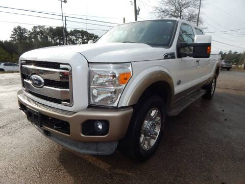 2011 Ford F-250 Super Duty for sale at Medford Motors Inc. in Magnolia TX