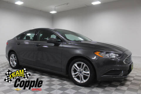 2018 Ford Fusion for sale at Copple Chevrolet GMC Inc in Louisville NE