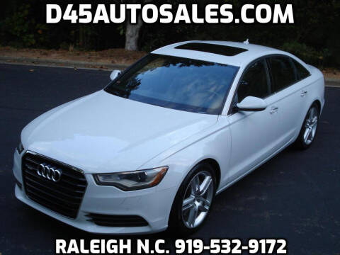 2015 Audi A6 for sale at D45 Auto Brokers in Raleigh NC
