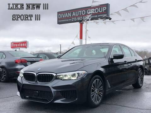 2019 BMW 5 Series for sale at Divan Auto Group in Feasterville PA