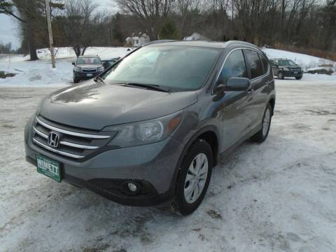 2014 Honda CR-V for sale at Wimett Trading Company in Leicester VT