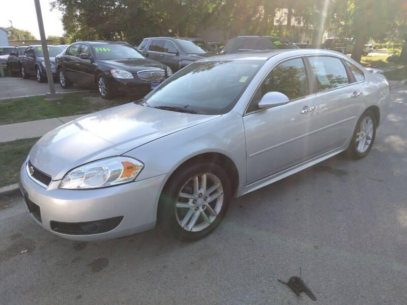 2012 Chevrolet Impala for sale at CPM Motors Inc in Elgin IL