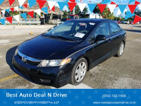 2011 Honda Civic for sale at Best Auto Deal N Drive in Hollywood FL
