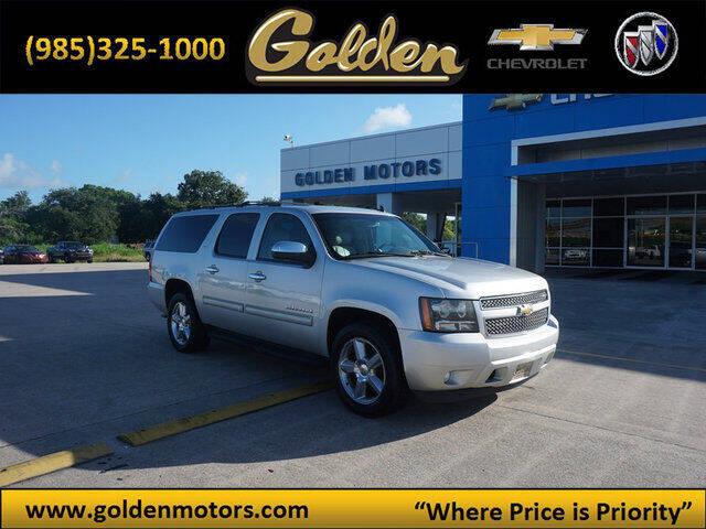 2011 Chevrolet Suburban for sale at GOLDEN MOTORS in Cut Off LA