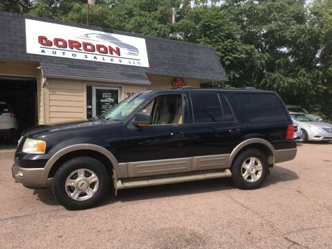 2003 Ford Expedition for sale at Gordon Auto Sales LLC in Sioux City IA