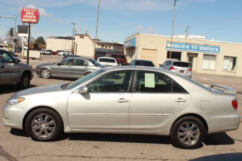 2005 Toyota Camry for sale at Epic Auto in Idaho Falls ID