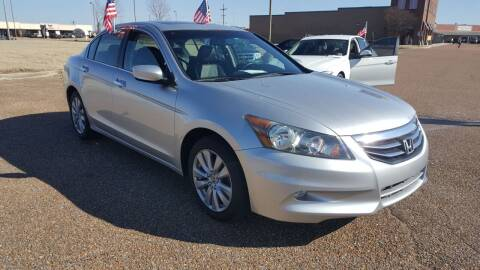2011 Honda Accord for sale at The Auto Toy Store in Robinsonville MS