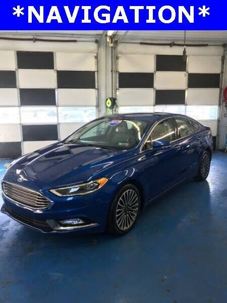 2017 Ford Fusion for sale at Ron's Automotive in Manchester MD