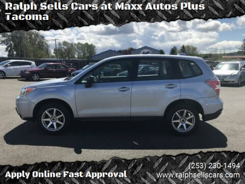 2016 Subaru Forester for sale at Ralph Sells Cars at Maxx Autos Plus Tacoma in Tacoma WA