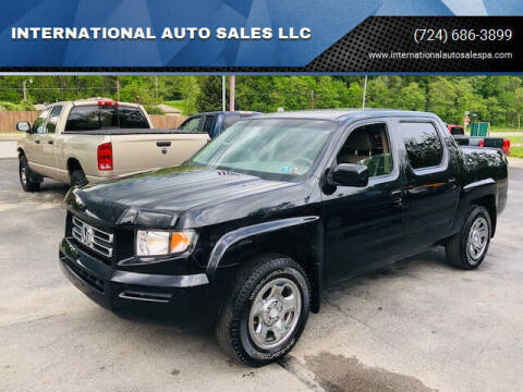 2006 Honda Ridgeline for sale at INTERNATIONAL AUTO SALES LLC in Latrobe PA