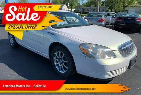 2007 Buick Lucerne for sale at American Motors Inc. - Belleville in Belleville IL