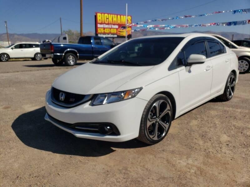 2015 Honda Civic for sale at Bickham Used Cars in Alamogordo NM