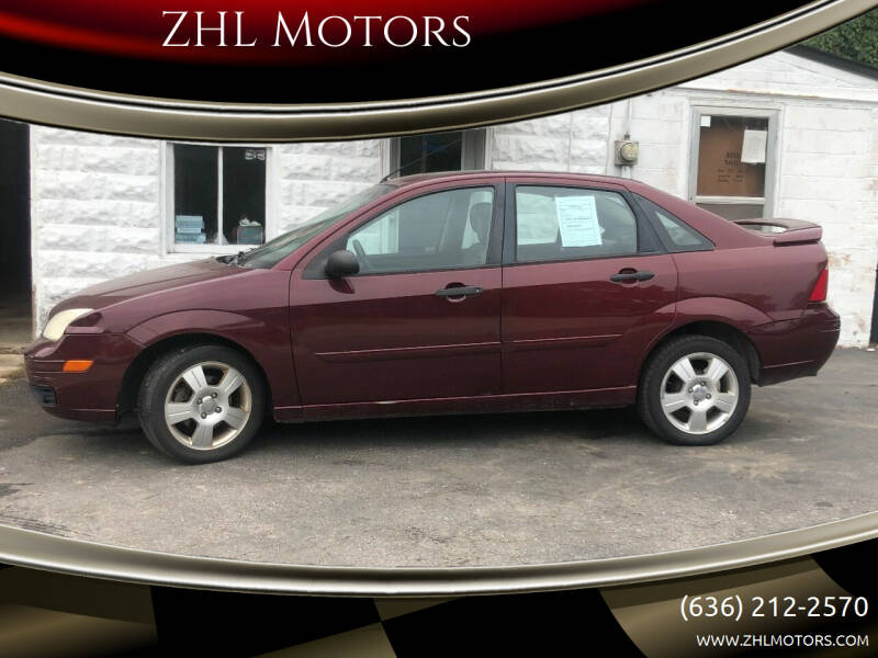 2007 Ford Focus for sale at ZHL Motors in House Springs MO