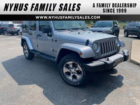 2018 Jeep Wrangler JK Unlimited for sale at Nyhus Family Sales in Perham MN