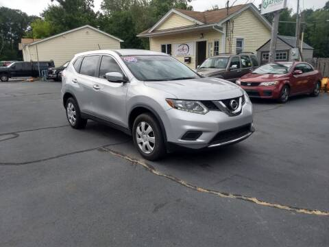 2015 Nissan Rogue for sale at Allan Auto Sales, LLC in Fall River MA