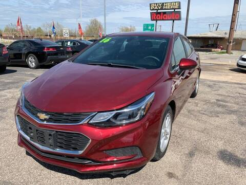 2016 Chevrolet Cruze for sale at Ital Auto in Oklahoma City OK