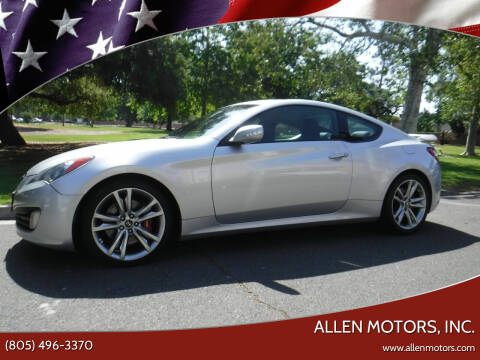 2012 Hyundai Genesis Coupe for sale at Allen Motors, Inc. in Thousand Oaks CA