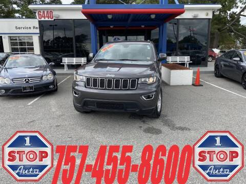 2017 Jeep Grand Cherokee for sale at 1 Stop Auto in Norfolk VA