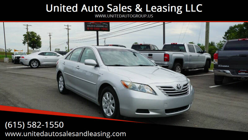 2007 Toyota Camry Hybrid for sale at United Auto Sales & Leasing LLC in La Vergne TN
