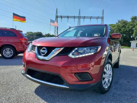 2016 Nissan Rogue for sale at Das Autohaus Quality Used Cars in Clearwater FL