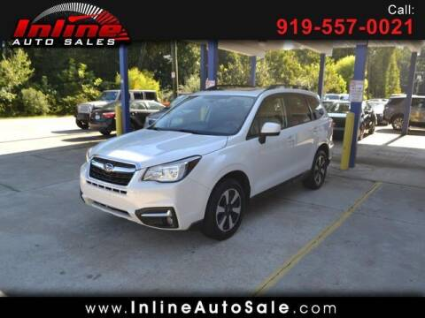 2017 Subaru Forester for sale at Inline Auto Sales in Fuquay Varina NC