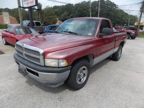 1999 Dodge Ram Pickup 1500 for sale at Deer Park Auto Sales Corp in Newport News VA