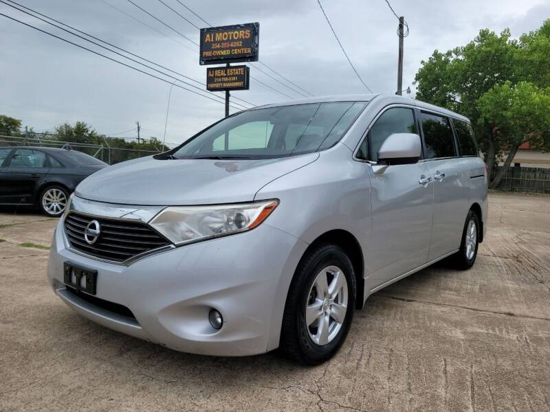 2012 Nissan Quest for sale at AI MOTORS LLC in Killeen TX