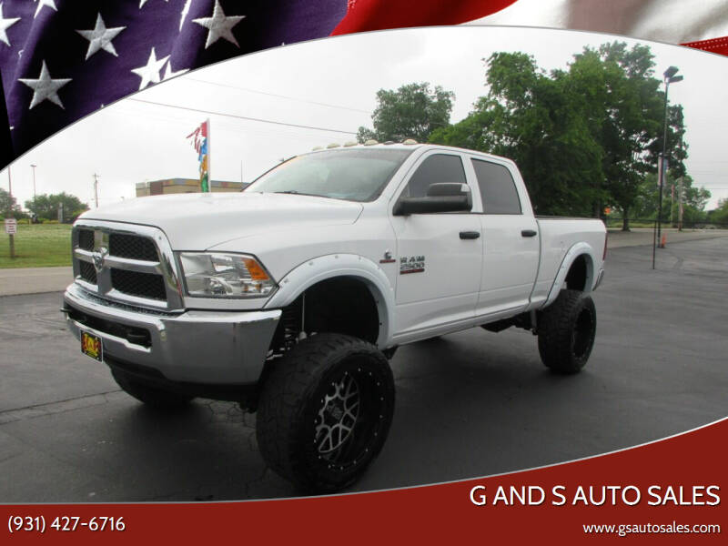 2015 RAM Ram Pickup 2500 for sale at G and S Auto Sales in Ardmore TN