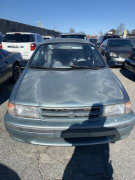 1994 Toyota Tercel for sale at J D USED AUTO SALES INC in Doraville GA