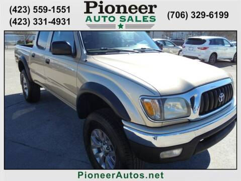 2002 Toyota Tacoma for sale at PIONEER AUTO SALES LLC in Cleveland TN