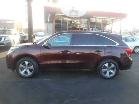 2014 Acura MDX for sale at The Carriage Company in Lancaster OH