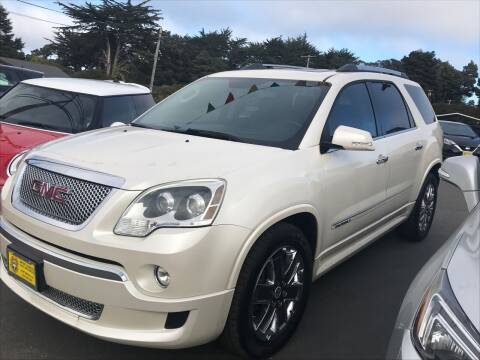 2012 GMC Acadia for sale at HARE CREEK AUTOMOTIVE in Fort Bragg CA